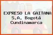 Expreso La Gaitana S.A. Bogotá Cundinamarca