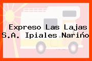 Expreso Las Lajas S.A. Ipiales Nariño