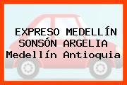 EXPRESO MEDELLÍN SONSÓN ARGELIA Medellín Antioquia