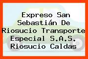 Expreso San Sebastián De Riosucio Transporte Especial S.A.S. Riosucio Caldas