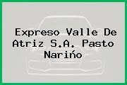 Expreso Valle De Atriz S.A. Pasto Nariño