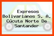 Expresos Bolivarianos S. A. Cúcuta Norte De Santander