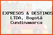 EXPRESOS & DESTINOS LTDA. Bogotá Cundinamarca