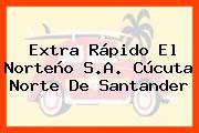Extra Rápido El Norteño S.A. Cúcuta Norte De Santander