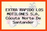 EXTRA RAPIDO LOS MOTILONES S.A. Cúcuta Norte De Santander
