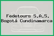 Fedetours S.A.S. Bogotá Cundinamarca