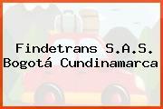 Findetrans S.A.S. Bogotá Cundinamarca