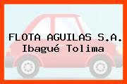 FLOTA AGUILAS S.A. Ibagué Tolima