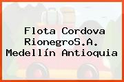 Flota Cordova RionegroS.A. Medellín Antioquia
