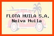 FLOTA HUILA S.A. Neiva Huila