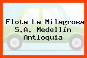 Flota La Milagrosa S.A. Medellín Antioquia