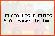 FLOTA LOS PUENTES S.A. Honda Tolima
