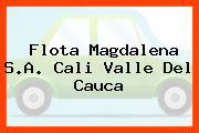 Flota Magdalena S.A. Cali Valle Del Cauca