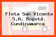 Flota San Vicente S.A. Bogotá Cundinamarca