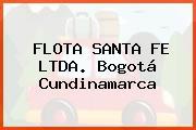 FLOTA SANTA FE LTDA. Bogotá Cundinamarca