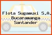 Flota Sugamuxi S.A. Bucaramanga Santander
