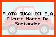 FLOTA SUGAMUXI S.A. Cúcuta Norte De Santander