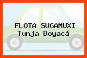 FLOTA SUGAMUXI Tunja Boyacá