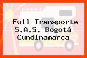 Full Transporte S.A.S. Bogotá Cundinamarca