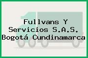 Fullvans Y Servicios S.A.S. Bogotá Cundinamarca