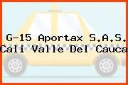G-15 Aportax S.A.S. Cali Valle Del Cauca