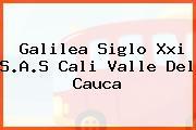 Galilea Siglo Xxi S.A.S Cali Valle Del Cauca