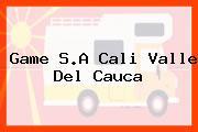 Game S.A Cali Valle Del Cauca