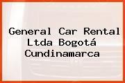 General Car Rental Ltda Bogotá Cundinamarca