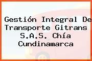 Gestión Integral De Transporte Gitrans S.A.S. Chía Cundinamarca