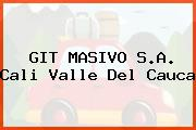 GIT MASIVO S.A. Cali Valle Del Cauca