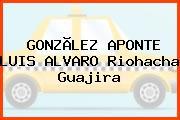 GONZÃLEZ APONTE LUIS ALVARO Riohacha Guajira
