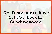 Gr Transportadores S.A.S. Bogotá Cundinamarca