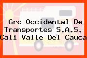Grc Occidental De Transportes S.A.S. Cali Valle Del Cauca