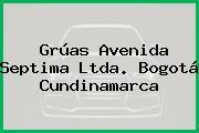 Grúas Avenida Septima Ltda. Bogotá Cundinamarca
