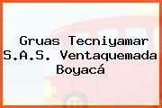 Gruas Tecniyamar S.A.S. Ventaquemada Boyacá