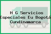 H G Servicios Especiales Eu Bogotá Cundinamarca