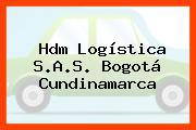 Hdm Logística S.A.S. Bogotá Cundinamarca