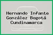 Hernando Infante González Bogotá Cundinamarca