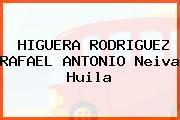 HIGUERA RODRIGUEZ RAFAEL ANTONIO Neiva Huila