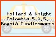Holland & Knight Colombia S.A.S. Bogotá Cundinamarca