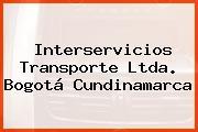 Interservicios Transporte Ltda. Bogotá Cundinamarca