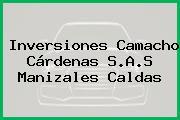 Inversiones Camacho Cárdenas S.A.S Manizales Caldas