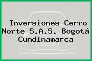 Inversiones Cerro Norte S.A.S. Bogotá Cundinamarca