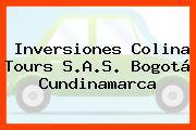 Inversiones Colina Tours S.A.S. Bogotá Cundinamarca