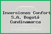 Inversiones Confort S.A. Bogotá Cundinamarca