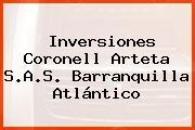 Inversiones Coronell Arteta S.A.S. Barranquilla Atlántico