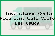 Inversiones Costa Rica S.A. Cali Valle Del Cauca