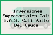 Inversiones Empresariales Cali S.A.S. Cali Valle Del Cauca