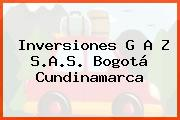 Inversiones G A Z S.A.S. Bogotá Cundinamarca