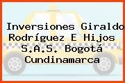 Inversiones Giraldo Rodríguez E Hijos S.A.S. Bogotá Cundinamarca